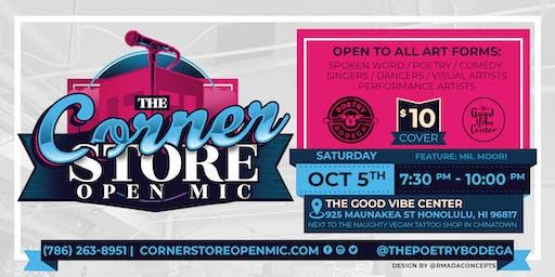 The Corner Store Open Mic