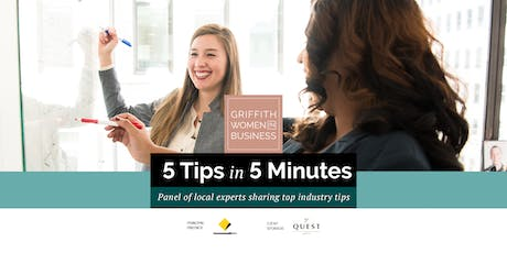 GWIB presents 5 Tips in 5 Minutes tickets