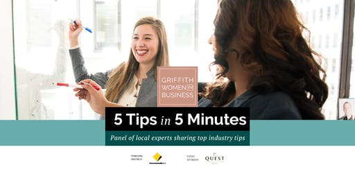 GWIB presents 5 Tips in 5 Minutes