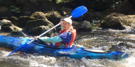 Women's Easy Rapids Kayaking // Sunday 12th January  tickets