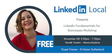 LinkedIn Local  Sunshine Coast - The Fundamentals of LinkedIn for Business tickets