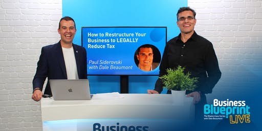 BB LIVE: How to Restructure Your Business to LEGALLY Reduce Tax