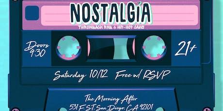 Nostalgia<3: Gaslamp Halloween Party (21+) tickets