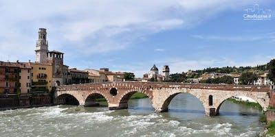 MTB Bike Tour from Lazise Gardalake to Verona