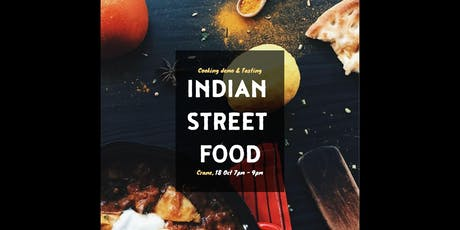 Indian Street Food: Cooking Demo & Tasting tickets