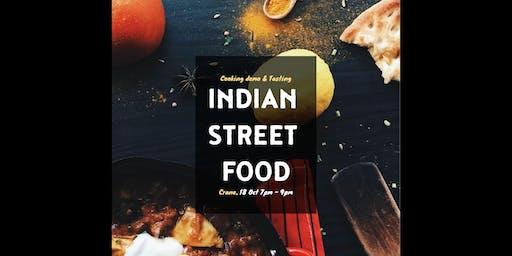 Indian Street Food: Cooking Demo & Tasting