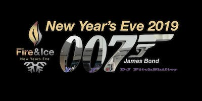 007 James Bond  New Year's Eve Gala 2019 presented by Fire & Ice Utah NYE