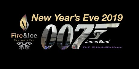 """007 James Bond  New Year's Eve Gala """"License to Thrill"""" tickets"""