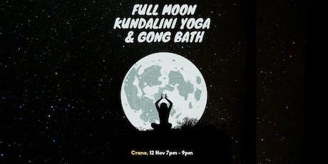 Full Moon Kundalini Yoga & Gong Bath tickets