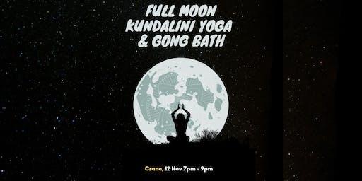 Full Moon Kundalini Yoga & Gong Bath