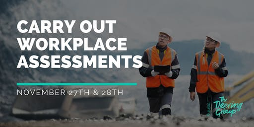 Carry Out Workplace Assessment WPTASS001 - November