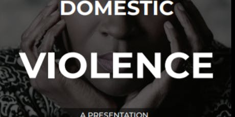 Siyanda Trust  - A presentation about Domestic Violence, to overcome.... tickets