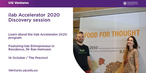 ilab Accelerator 2020 Discovery Session