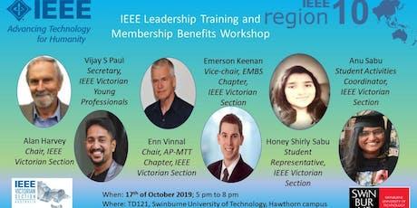 IEEE Leadership Training and Membership Benefits Workshop tickets