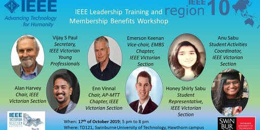 IEEE Leadership Training and Membership Benefits Workshop