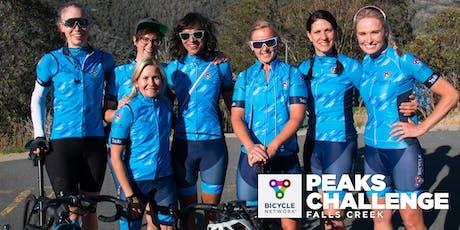 Women's Community Social Night | Peaks Challenge Falls Creek 2020 tickets