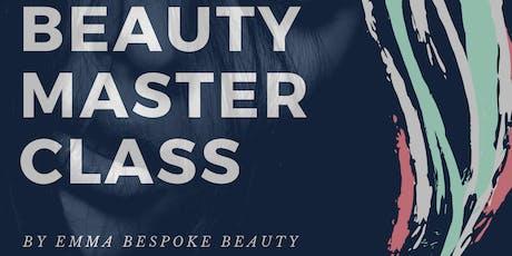 Beauty Master Class tickets