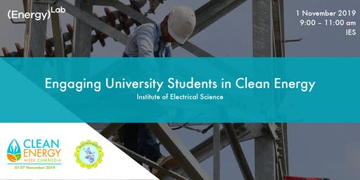 Engaging University Students in Clean Energy - IES
