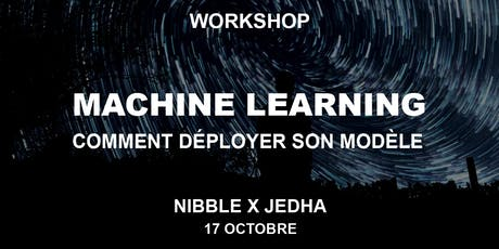 WORKSHOP - Machine Learning : déployer efficacement son modèle billets