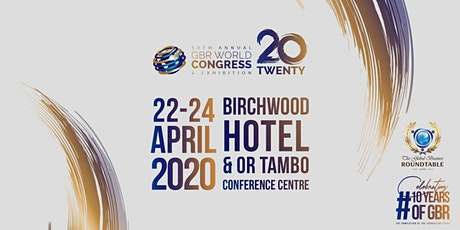 GBR WORLD CONGRESS & EXHIBITION 2020 tickets