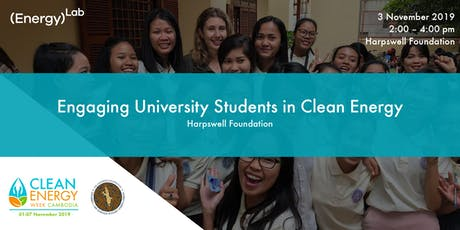 Engaging University Students in Clean Energy - Harpswell Foundation tickets