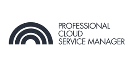 CCC-Professional Cloud Service Manager(PCSM) 3 Days Training in Luxembourg billets