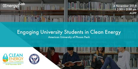 Engaging University Students in Clean Energy - AUPP tickets