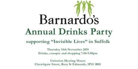 Barnardo's Drinks Party tickets