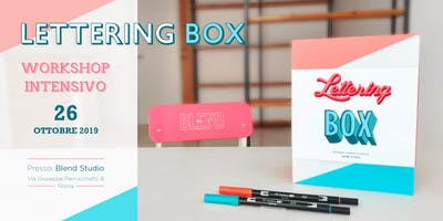 LETTERING BOX - Workshop intensivo