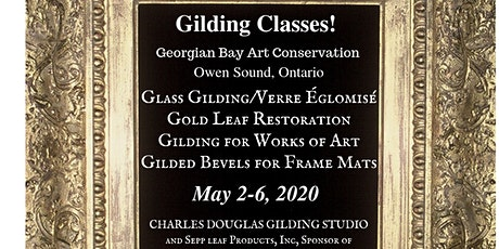 Gilding Class for Works of Art on Canvas, Paper, and Panels...a Study for Fine Artists (Owen Sound, Ontario) tickets