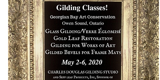 Gilding Class for Works of Art on Canvas, Paper, and Panels...a Study for Fine Artists (Owen Sound, Ontario)