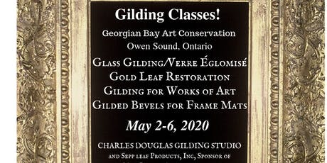 (Églomisé) Glass Gilding Class: The Foundation for Verre Églomisé (Owen Sound, Ontario) tickets