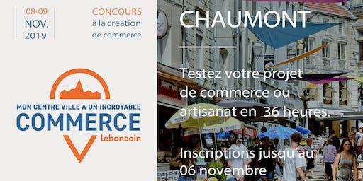 Mon centre-ville a un incroyable commerce - Chaumont