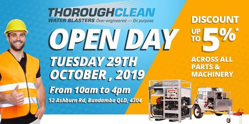 ThoroughClean Open Day