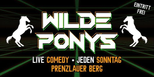 """Stand-up Comedy •  in P-Berg • 13. Oktober • """"WILDE PONYS"""""""