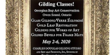 Gold Leaf Restoration & Gilded Bevel Frame Mats Class (Owen Sound, Ontario) tickets
