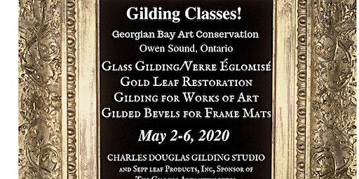 Gold Leaf Restoration & Gilded Bevel Frame Mats Class (Owen Sound, Ontario)