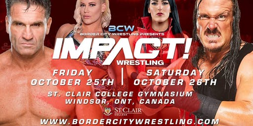 Impact Wrestling October Television Tapings