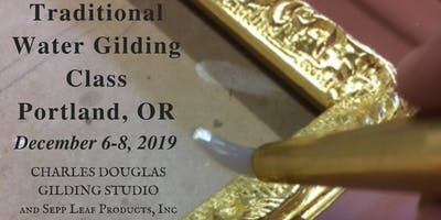 Portland, OR: Traditional Water Gilding Class