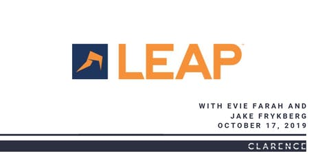 LEAP demonstration including new features tickets