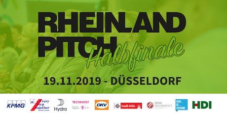Rheinland-Pitch Halbfinale Düsseldorf 2019 Tickets