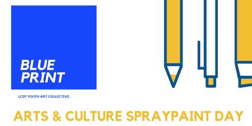 BLUEPRINT ART & CULTURE SPRAYPAINT DAY