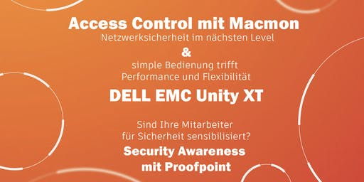 Access Control mit Macmon, die Dell Unity XT & Security Awareness