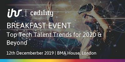 Top Tech Talent Trends for 2020 & Beyond