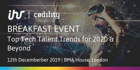 Top Tech Talent Trends for 2020 & Beyond tickets
