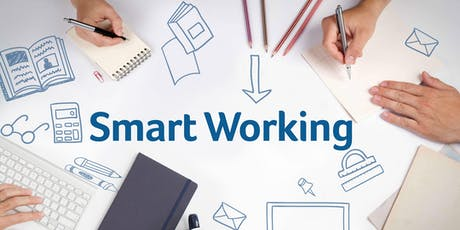 SMART WORKING, SMART WAYS biglietti