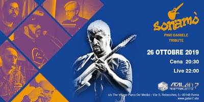 SONAMO' Tribute Band Pino Daniele