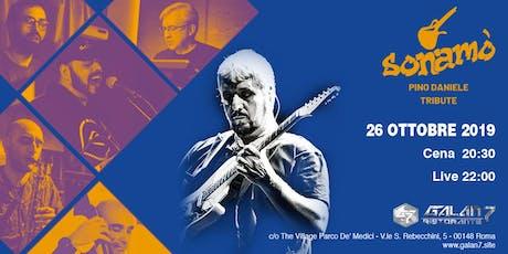 SONAMO' Tribute Band Pino Daniele biglietti