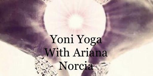 Yoni Yoga a space to reconnect to the subtle energy of your feminine essen