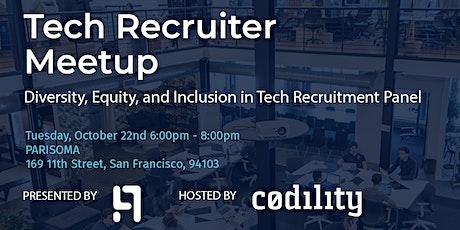 Tech Recruiter Meetup tickets